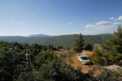 In den Bergen Griechenlands wird Mensch und Maschine alles abverlangt