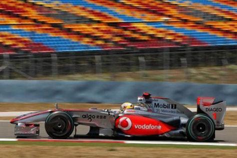 Formel 1 2009 McLaren Mercedes
