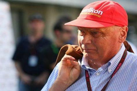 Niki Lauda ist Formel-1-Experte und sitzt bei seiner Airline schon mal selbst am Steuer