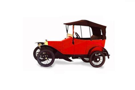 Peugeot BP1 Voiturette Bébé, gebaut von 1913-1916