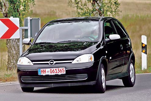 Ab hier kam Schwung in die Sache: der Corsa in neuer Opel-Qualität.