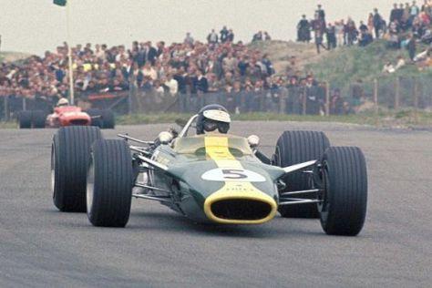 Seine größten Erfolge erzielte der legendäre Jim Clark in einem Lotus
