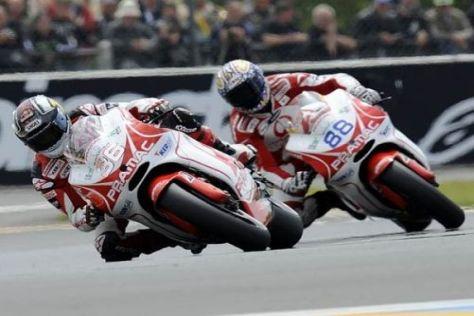 Niccolò Canepa und Mika Kallio freuen sich auf den Circuit de Catalunya