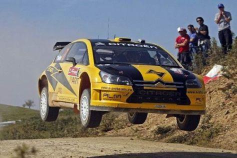 Evgeny Novikov holte die Bestzeit im Shakedown der Rallye Griechenland