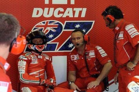 Die Erfolgsallianz Casey Stoner und Ducati soll auch 2010 bestehen bleiben