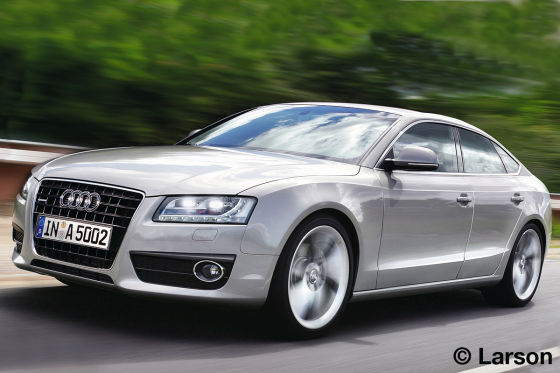 Illustration Audi A5 Sportback
