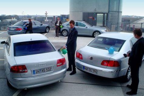 Vier Luxus-Diesel im Test