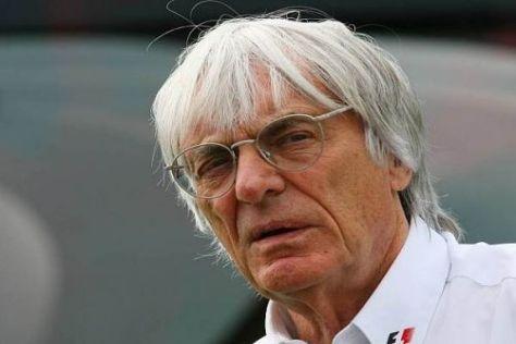 Bernie Ecclestone sieht seine Geldmaschine Formel 1 in Gefahr