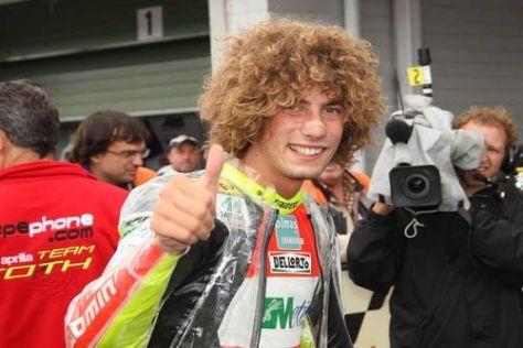 Daumen hoch für die MotoGP-Ambitionen von Marco Simoncelli