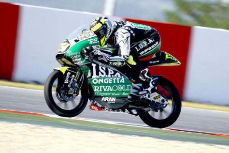 Motorrad-Weltmeisterschaft 2009 in Barcelona, Andrea Iannone, Aprilia