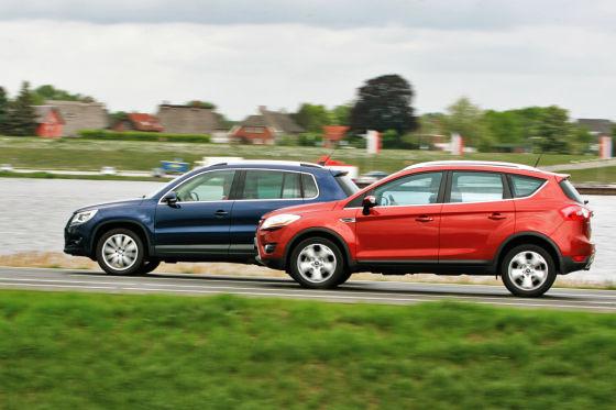 VW Tiguan 2.0 TSI/Ford Kuga 2.5 T