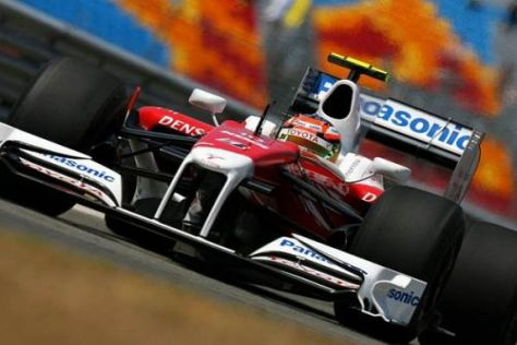 Toyota vertraut darauf, dass das Layout dem TF109 entgegenkommt