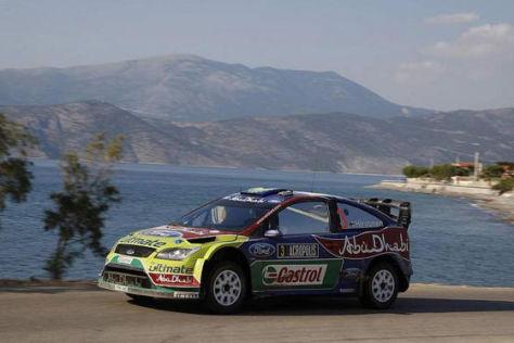 Mikko Hirvonen (Finnland) - BP-Ford Focus WRC, Rallye Griechenland 2009