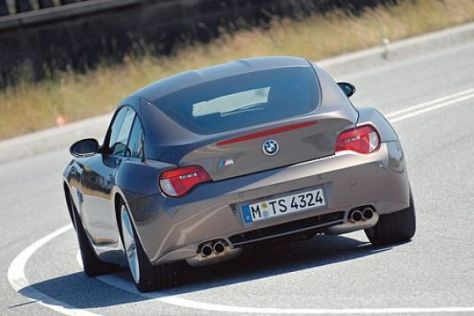 Test BMW Z4 M Coupé