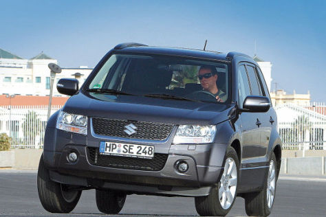 Test Suzuki Grand Vitara 2.4