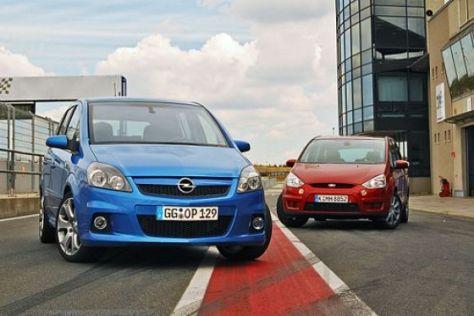 Test Ford S-Max 2.5 gegen Opel Zafira OPC