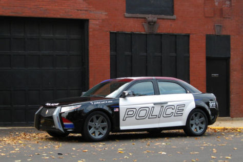 Carbon Motors E7 Polizeifahrzeug