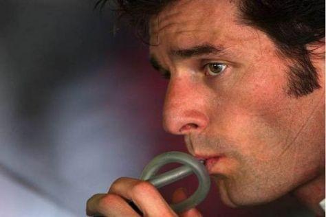 Mark Webber genießt den engen Zweikampf mit Sebastian Vettel