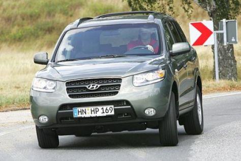 Test Hyundai Santa Fe – VW Touareg