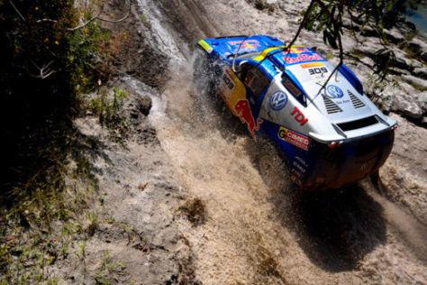 Rallye dos Sertoes 2009, Mauricio Neves, Eduardo Bampi, Tag 5