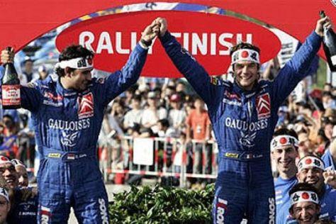 Rallye-WM in Japan 2006