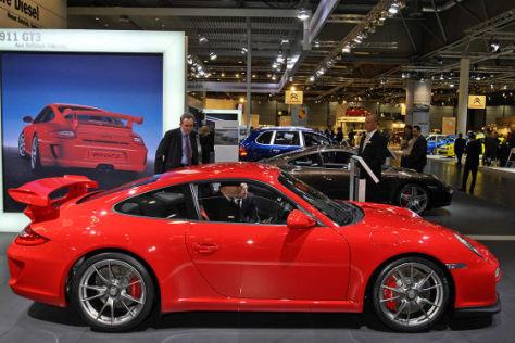 Porsche 911 GT3 auf der AMI