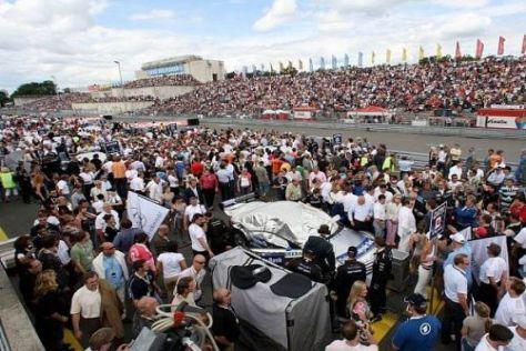 Auch 2009 werden wieder jede Menge Zuschauer zum Norisring strömen