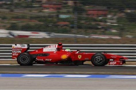 Felipe Massa bereitete den F60 samt Neuteilen in Fiorano vor