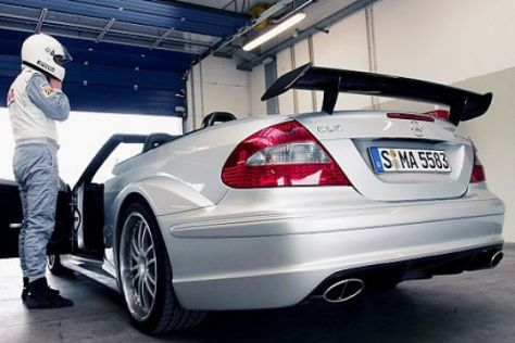 Test Mercedes CLK DTM AMG Cabrio