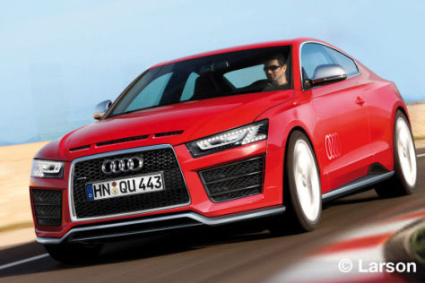 Illustration Audi Ur-Quattro neu