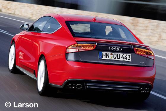 Illustration Audi Ur-Quattro neu