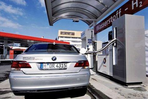 Wasserstoff-Auto BMW 760h