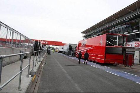 So oder so ähnlich könnte sich Silverstone an allen drei Tagen präsentieren