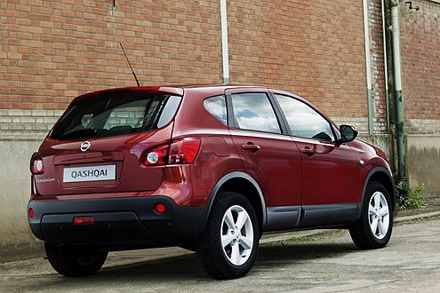 Oben Sportwagen, unten SUV: So sieht ein Crossover à la Nissan aus.
