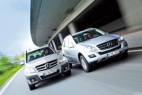 Mercedes GLK 220 CDI Mercedes ML 300 CDI