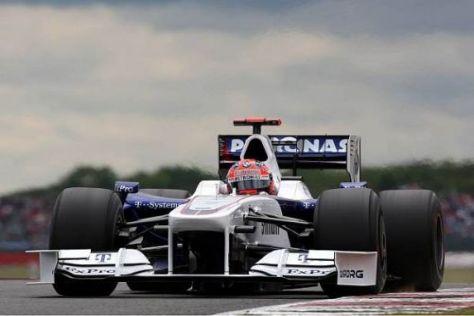 Robert Kubica kämpfte in allen Trainings mit technischen Problemen