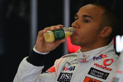 Lewis Hamilton muss beim Heimrennen eine bittere Pille schlucken