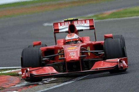 Zumindest Kimi Räikkönen schaffte den Sprung in die Top 10