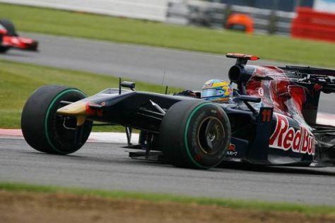 Sébastien Bourdais nach der Kollision mit Heikki Kovalainen