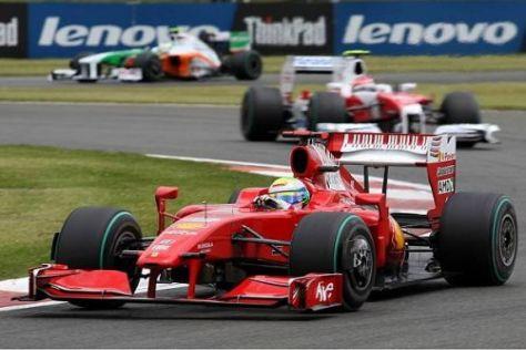 Felipe Massa arbeitete sich deutlich weiter nach vorn als erwartet