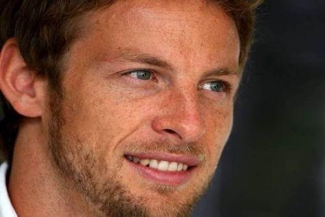 Trotz Platz sechs: Jenson Button hat in der Gesamtwertung viel Vorsprung