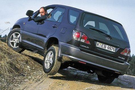 Lexus RX 300 im Gebrauchtwagen-Test