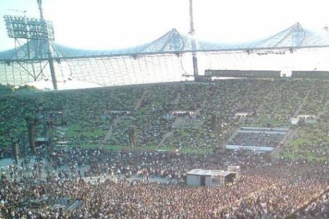 Das Münchner Olympiastadion wird derzeit vor allem für Konzerte genutzt