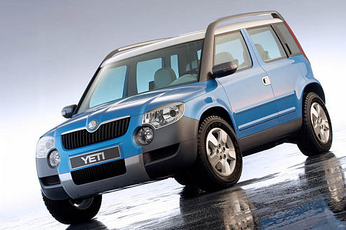 Für neue Kunden könnte ab 2009 der Skoda Yeti sorgen.