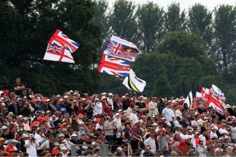 Die Stimmung auf den Rängen war wie immer in Silverstone sensationell