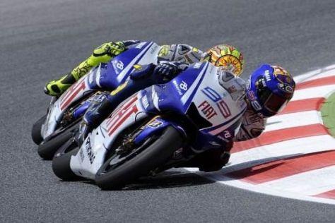 Lorenzo vs. Rossi: Welcher Yamaha-Pilot wird in Assen die Nase vorn haben?