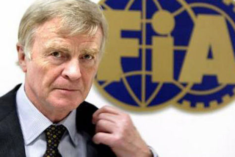FIA-Präsident Max Mosley