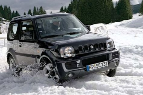 "Sondermodell Suzuki Jimny ""Snow"""