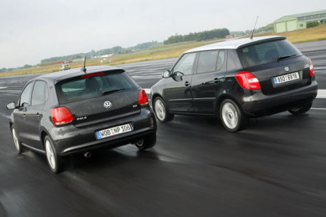 VW Polo Skoda Fabia