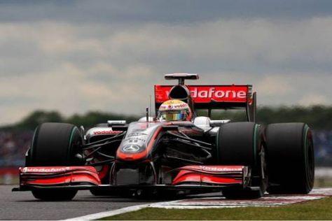 Bei McLaren-Mercedes soll es nach Silverstone endlich bergauf gehen